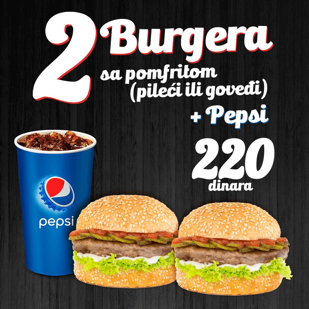 Minuta burger akcija